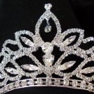 Magnificent Empress Tiara Bridal Veil Wedding Crown Sparking Swarovski Crystals
