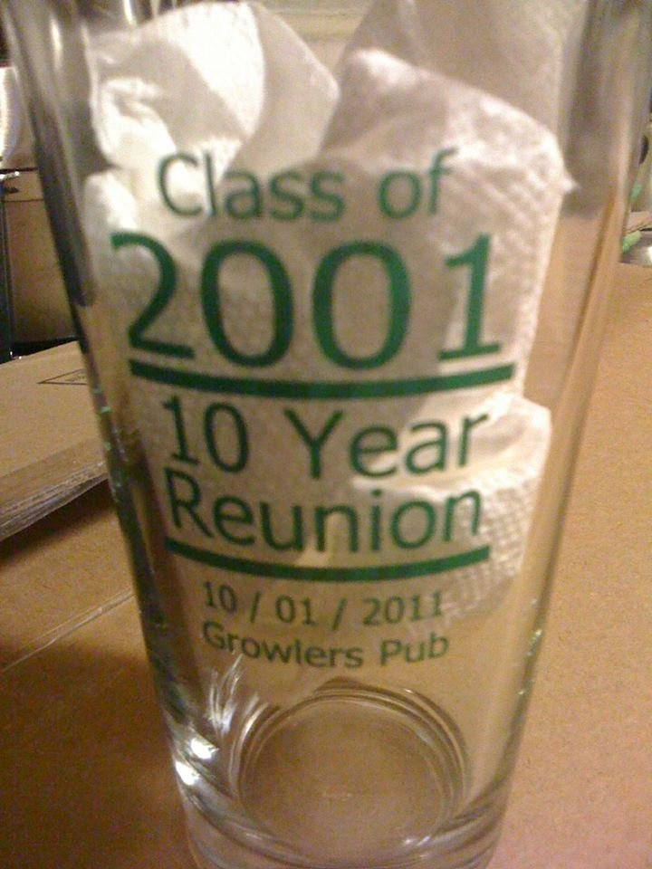 2 Pack of Pint Glasses (LOCAL PICK UP ONLY!!!!)