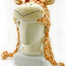 Giraffe Plush Mascot Fancy Dress Costume Mask Fur Hat Cap #50913