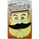 Black Halloween Fake Beard Mustache for Halloween Party Hair Costume #11748