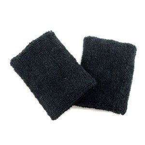 Sports Wristband Pair (Black) #50812