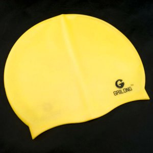 Silicone Swim Cap (YELLOW) #51425
