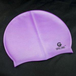 Silicone Swim Cap (PURPLE) #50712