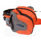 BlueField Waist Pack Fanny Belt Bum Hiking Camping Travelling Bag (ORANGE) #51464