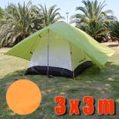 Tarp Tarpaulin Tent Shelter Heavy Duty L (ORANGE) #50885