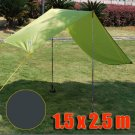 Tarp Tarpaulin Tent Shelter Heavy Duty S (DARK GREEN) #51006