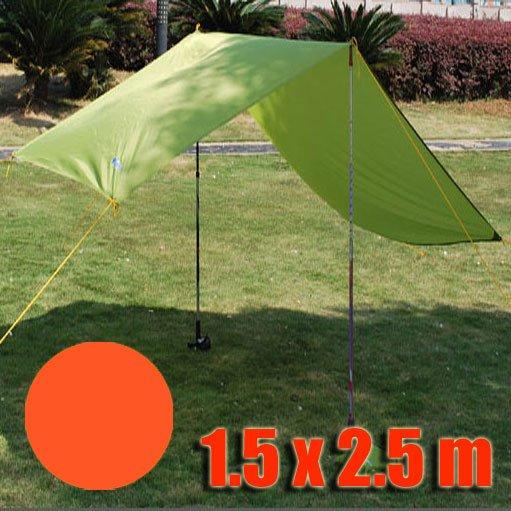 Tarp Tarpaulin Tent Shelter Heavy Duty S (ORANGE RED) #51008
