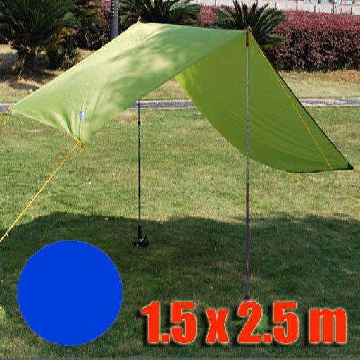Tarp Tarpaulin Tent Shelter Heavy Duty S (ROYAL BLUE) #51009