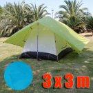 Tarp Tarpaulin Tent Shelter Heavy Duty L (BLUE) #50958