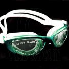 Anti Fog UV Protect Silicone Swimming Goggles 2120 GREEN #51500