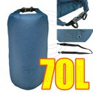 70L Taffela Waterproof Dry Bag (with 1 Eyelet & shoulder strap) #51532