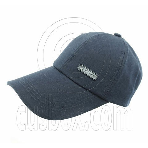 3.5 inches Sandwich Bill Cap B NAVY BLUE #51547