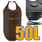 50L Taffela Waterproof Dry Bag (with 3 Eyelet & shoulder strap) #51523