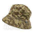 Reversible Outdoor Camo Bucket Hat (Brown Digit / Khaki) #51655