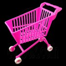 Pink Shopping Mall Cart 1:6 Barbie Blythe Doll's House Dollhouse Miniature #12404