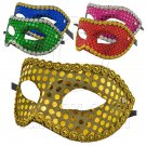 Mardi Gras Beads Flash Cosplay Venetian Masquerade Ball Party Costume Mask #11959