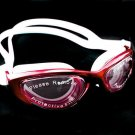 Anti Fog UV Mirror Reflective Protect Silicone Swimming Goggles 2120 RED #51718