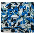 Blue Camo Camouflage Cycling Hiking Skiing Unisex Bandana Headwear Head Scarf #12114