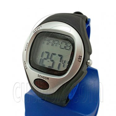 Digital Heart Rate and Calories Counter Watch 0622 (SILVER) #51749
