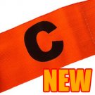 Football Games Gear Adjustable Captain Armband (ORANGE) Round C #51521