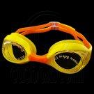 Swimming Kids Goggles with Box YELLOW ORANGE #51783
