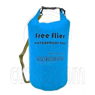 75L Free Flier Taffela Waterproof Dry Bag Size S (with 1 Eyelet & shoulder strap) #51839