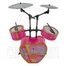 Pink Musical Room Instruments Band Set 1/6 Barbie Blythe Doll's House Furniture #12632