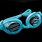 Swimming Kids Goggles with Bag AQUA BLUE #50356