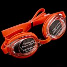 Swimming Kids Goggles with Bag ORANGE #50359