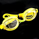 Swimming Kids Goggles with Bag YELLOW #50362