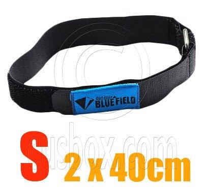 2x Adjustable Luggage Velcro Strap Metal Buckle Size S #51849