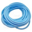 5 pcs Colorful Silicone Elastic Bracelet (Baby Blue) #51869