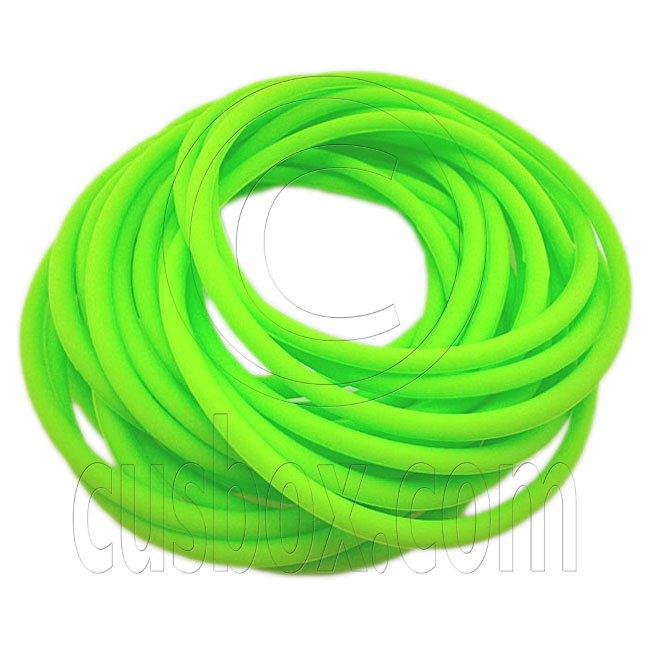 5 pcs Colorful Silicone Elastic Bracelet (Light Green) #51872