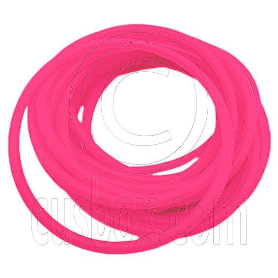 5 pcs Colorful Silicone Elastic Bracelet (Salmon Pink) #51878