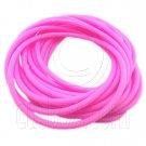 5 pcs Colorful Silicone Elastic Bracelet (Pink) #51879