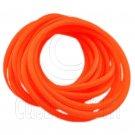 5 pcs Colorful Silicone Elastic Bracelet (Orange) #51881