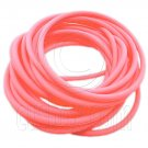 5 pcs Colorful Silicone Elastic Bracelet (Orange Pink) #51882