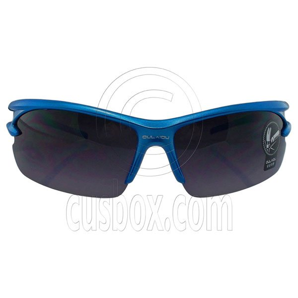 Blue Grey Professional Polarized Driving Cycling Mens Glasses Sports Sunglasses #12891