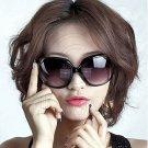 Black Women's Girl Oversized Large Vintage Shades Polarized Designer Sunglasses #12904