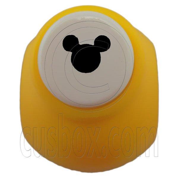"Mickey Mouse Paper Edge Die Cut Scrap Craft Punch Scrapbooking 0.7cm 1/4"""" #12669"