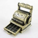 Vintage Bronze Gold Cash Register Dollhouse Miniature #10277