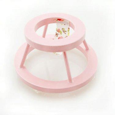 Pink Nursery Baby Walker Dollhouse Furniture Miniature #10759
