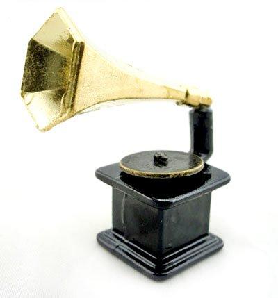 Vintage Music Classical Gramophone Dollhouse Miniature #10860