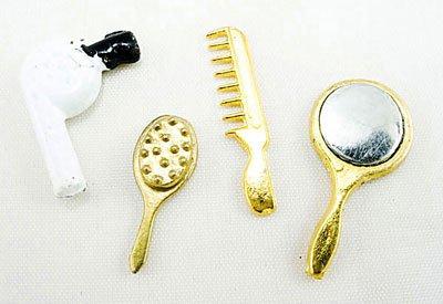 Bathroom Cleanup Accessories Dollhouse Miniature Set #10863