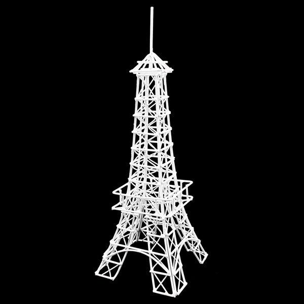 White Eiffel Tower Jewelry Display Dollhouse Miniature #10895