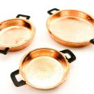 Set/Lot Kitchen Copper Cooking Pan Dollhouse Miniature #10921