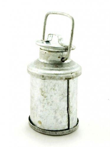 Galvanized Water Milk Bottle Can Dollhouse Miniature #11134