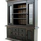 Chinese Oriental Walnut Cabinet Dollhouse Furniture MIB #11195