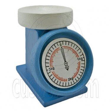 Blue Chef Baker Scale Balance 1:12 Dollhouse Miniature #11787