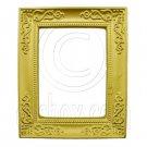 Rectangular Gold Canvas Frame 1:12 Dollhouse Miniature #11805